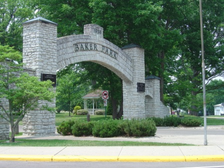 Entrance to Baker